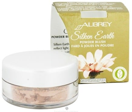 DROPPED: Aubrey Organics - Silken Earth Powder Blush Starlight Pink - 3 Grams