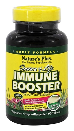 DROPPED: Nature's Plus - Source of Life Immune Booster - 90 Tablets