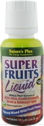 DROPPED: Nature's Plus - Super Fruits Liquid Mixed Wild Fruit - 8 oz. CLEARANCE PRICED
