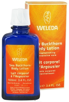 DROPPED: Weleda - Sea Buckthorn Body Lotion - 3.4 oz. CLEARANCE PRICED