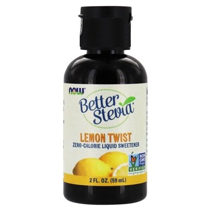 NOW Foods - Better Stevia Liquid Extract Lemon Twist - 2 oz. (formerly Stevia Extract Liquid)