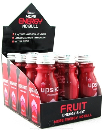 DROPPED: Drinks That Work - Upshot Energy Shot Fruit - 2.5 oz.