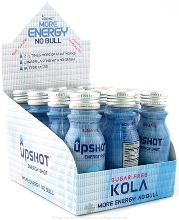 DROPPED: Drinks That Work - Upshot Energy Shot Sugar Free Kola - 2.5 oz.
