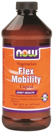 DROPPED: NOW Foods - Flex Mobility Vegetarian Liquid - 16 oz.
