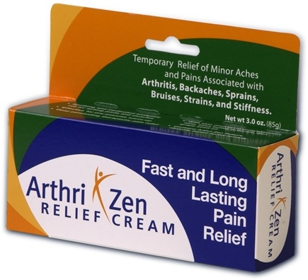 DROPPED: RZN Nutraceuticals - Arthri Zen Relief Cream - 3 oz.