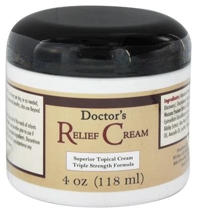 Fountain of Youth Technologies - Doctor's Relief Cream Triple Strength Formula - 4 oz. formerly Doctor's Fibromyalgia Cream