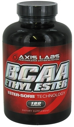 DROPPED: Axis Labs - BCAA Ethyl Ester - 180 Capsules CLEARANCE PRICED
