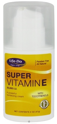 DROPPED: Life-Flo - Super Vitamin E Cream 25000 IU - 2 oz. CLEARANCE PRICED
