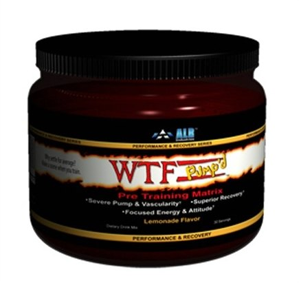 DROPPED: ALRI - WTF Pump'd Pre-Training Matrix Lemonade Flavor - 30 Serving(s)