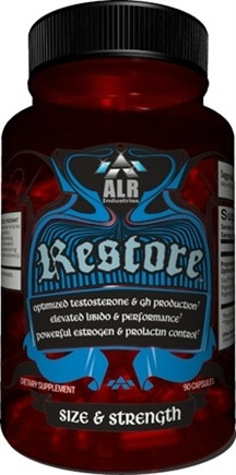 DROPPED: ALRI - Restore Male Optimizing Formula - 90 Capsules CLEARANCE PRICED