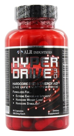 DROPPED: ALRI - Hyperdrive 3.0 Plus Daytime Energy & Weight Loss - 90 Capsules