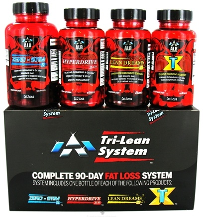 DROPPED: ALRI - Tri-Lean Fat Loss System - 90 Capsules CLEARANCE PRICED