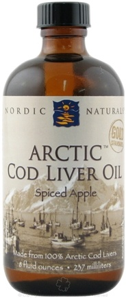 DROPPED: Nordic Naturals - Artic Cod Liver Oil Spiced Apple - 8 oz.