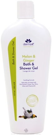 DROPPED: Derma-E - Melon and Ginger Bath and Shower Gel - 12 oz.