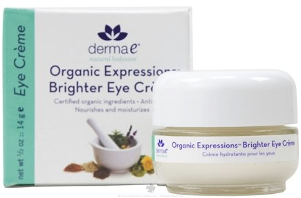 DROPPED: Derma-E - Organic Expressions Brighter Eye Cream - 0.5 oz. CLEARANCE PRICED