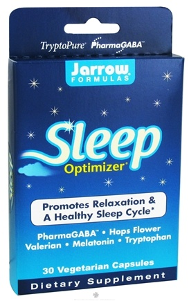 DROPPED: Jarrow Formulas - Sleep Optimizer - 30 Vegetarian Capsules CLEARANCE PRICED