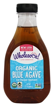 DROPPED: Wholesome Sweeteners - Organic Blue Agave - 23.5 oz. CLEARANCE PRICED