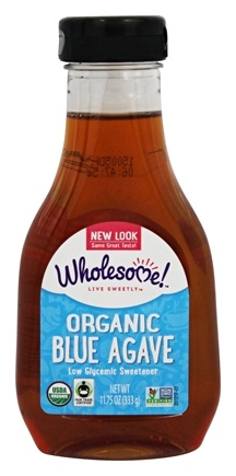 DROPPED: Wholesome Sweeteners - Organic Blue Agave - 11.75 oz. CLEARANCE PRICED