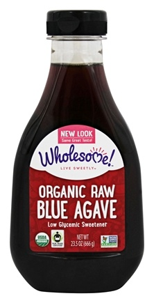 DROPPED: Wholesome Sweeteners - Organic Raw Blue Agave - 23.5 oz.