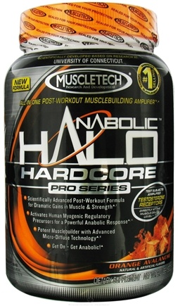 DROPPED: Muscletech Products - Anabolic Halo Hardcore Pro Series Orange Avalanche - 2 lbs. CLEARANCE PRICED