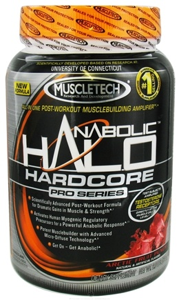 DROPPED: Muscletech Products - Anabolic Halo Hardcore Pro Series Arctic Fruit Punch - 2 lbs.