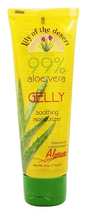 Lily Of The Desert - 99% Aloe Vera Gelly Soothing Moisturizer - 4 oz.