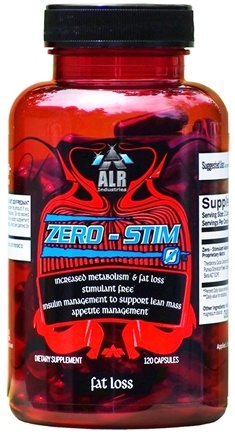 DROPPED: ALRI - Zero-Stim Stimulant-Free Fat Loss Formula - 120 Capsules CLEARANCE PRICED