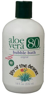 DROPPED: Lily Of The Desert - Aloe Vera 80 Bubble Bath - 18 oz.