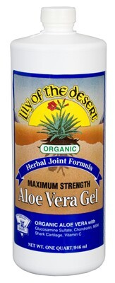 DROPPED: Lily Of The Desert - Aloe Vera Gel Organic Herbal Joint Formula - 32 oz.