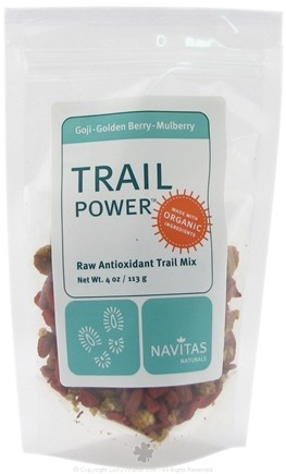 DROPPED: Navitas Naturals - Trail Power Goji-Golden Berry-Mulberry Certified Organic - 4 oz.