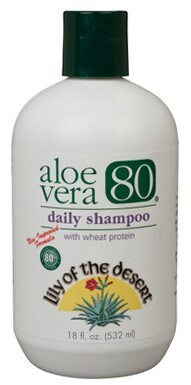 DROPPED: Lily Of The Desert - Aloe Vera 80 Daily Shampoo - 18 oz.