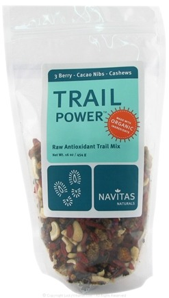 DROPPED: Navitas Naturals - Trail Power 3 Berry-Cacao Nibs-Cashews Certified Organic - 16 oz.