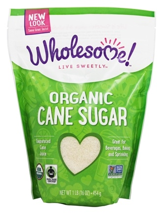 DROPPED: Wholesome Sweeteners - Organic Sugar - 1 lb. CLEARANCE PRICED