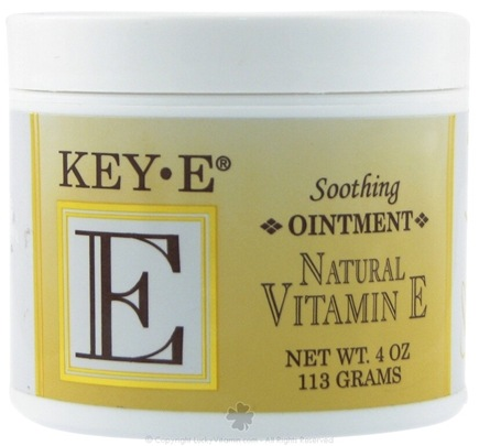 DROPPED: Carlson Labs - Key-E Natural Vitamin E Soothing Ointment - 4 oz.