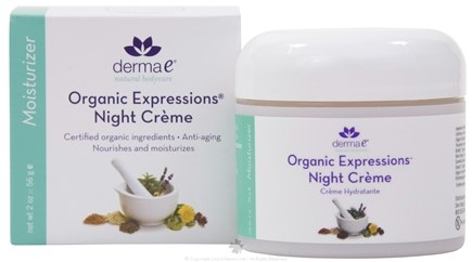 DROPPED: Derma-E - Organic Expressions Intensive Night Creme - 2 oz. CLEARANCE PRICED