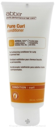 DROPPED: Abba Pure Performance Hair Care - Pure Curl Conditioner - 6.75 oz.