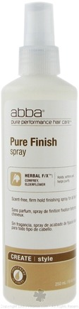 DROPPED: Abba Pure Performance Hair Care - Pure Finish Spray - 8.45 oz.
