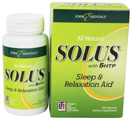 Form Essentials - Solus with 5HTP Sleep & Relaxation Aid - 60 Capsules
