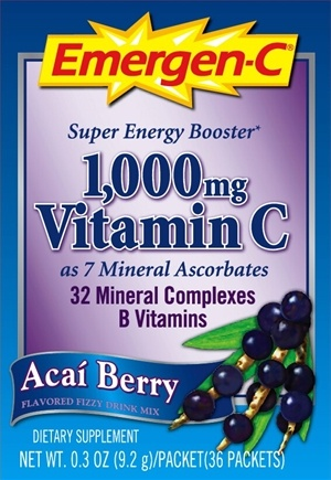 DROPPED: Alacer - Emergen-C Acai Berry - 36 Packet(s)