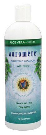 DROPPED: Auromere - Aloe Vera-Neem Shampoo - 16 oz. CLEARANCED PRICED
