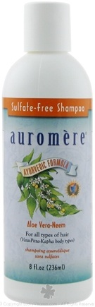DROPPED: Auromere - Aloe Vera-Neem Shampoo Sulfate-Free - 8 oz. CLEARANCE PRICED
