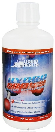 DROPPED: Liquid Health - Hydro Protein - 32 oz.
