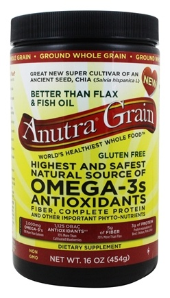 Anutra - Grain Omega-3s Antioxidants Whole Ground - 16 oz.
