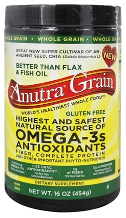 Anutra - Grain Omega-3s Antioxidants Whole Grain - 16 oz.