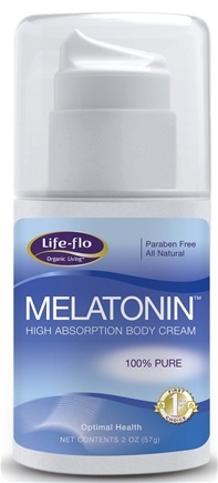 DROPPED: Life-Flo - Melatonin High Absorption Body Cream - 2 oz. CLEARANCE PRICED