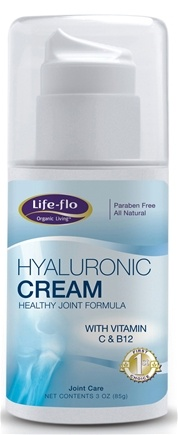 DROPPED: Life-Flo - Hyaluronic Cream Healthy Joint Formula - 3 oz. CLEARANCE PRICED