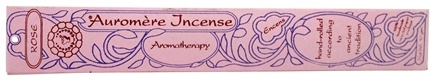 DROPPED: Auromere - Aromatherapy Incense Rose - 1 Packet