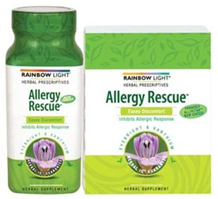 DROPPED: Rainbow Light - Allergy Rescue - 30 Tablets CLEARANCE PRICED