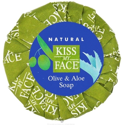DROPPED: Kiss My Face - Bar Soap Olive & Aloe - 1.25 oz.