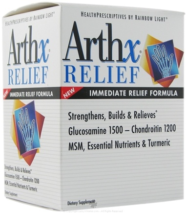 DROPPED: Rainbow Light - Arthx Relief - 80 Tablets